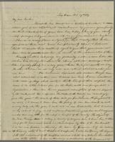 New Haven, Oct. 20th, 1837. Rev. Edward Robinson D.D., aux soins de M.M. DeLaunay, Burgy et comp., au Havre, en France