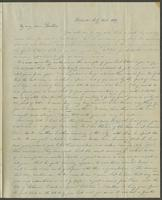 Detroit, July 31st, 1839. Rev. Edward Robinson, D.D. Berlin, Prusse