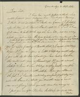 April 8, 1818 by Albany. Miss E. Kirkland, Clinton, Oneida Co. State N. York