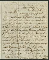Aug. 24, 1818 by Albany. Miss Eliza Kirkland, Clinton, Oneida Co. S. N. York