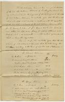 Agreement etc. of the heirs of Wm Robinson. Oct 15, 1825